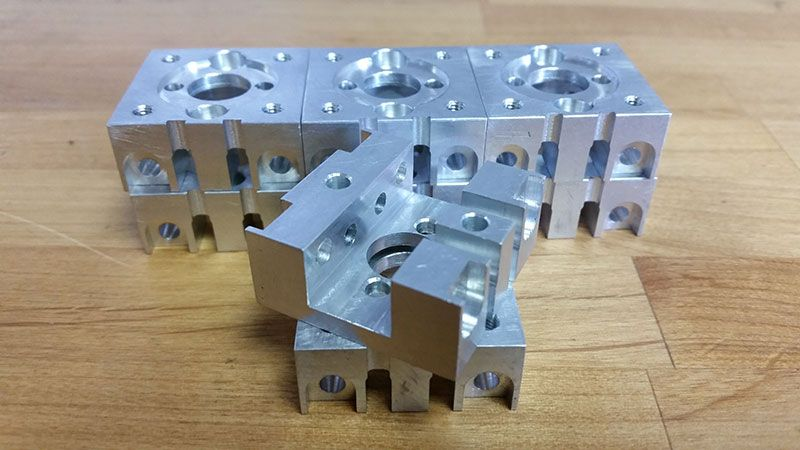 metal pieces with holes